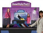 Custom Printed ShowStyle Pro 32 Display w/ Custom Header & Graphics
