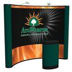 10' ARISE Curved Floor Kit (Mural with Fabric) Logo Branded