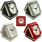 Custom Imprinted Closable Folding Travel Alarm Clock with Snooze
