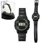 Logo Printed LCD Sports Watch