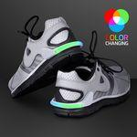 Custom Imprinted Flashing Multicolor Shoe Heel Light for Night Safety