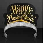 "Logo Branded ""Happy New Year"" Paper Crown Tiaras (NON-Light Up)"