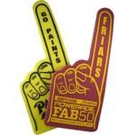 "Personalized, Promotional Foam Finger Hand (22"")"
