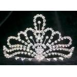 "Logo Branded Windsor Tiaras - Queen 3-3/8"" Tall - SPECIAL - CLOSE OUT"