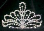 "Windsor Tiaras - Queen 3-3/8"" Tall Logo Branded"