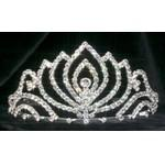 "Logo Branded Stuart Tiaras - Queen- 2-7/8"" Tall - SPECIAL - CLOSE OUT"