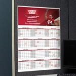 Medium Wall Calendar Custom Printed
