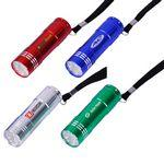 9 LED Lights with Aluminum Body Wrist Strap and Batteries Included Personalized
