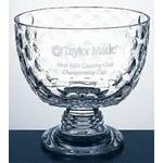 Royal Golf Bowl - Italian Lead Crystal Custom Imprinted