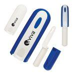 Logo Branded Handy Foldable Lint Roller with Storage Case