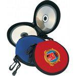 Custom Printed Neoprene 24 CD DVD Disk Holder