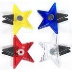 Jumbo Size Star Magnetic Memo Clip with Strong Grip Custom Printed