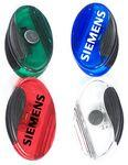 Jumbo Size Sleek Oval Magnetic Memo Clip with Strong Grip Custom Printed