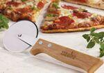 Bamboo Pizza Cutter Custom Engraved