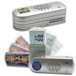 FM Scanner Radio w/ Alarm Clock & Photo Frame Custom Imprinted