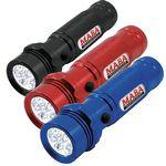 Metal Flashlight w/ 14 Ultra Bright LED's Custom Imprinted