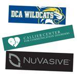 "Logo Imprinted Custom Bumper Stickers 2""x 6"""
