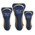 Custom Branded Stretch Fit Golf Head Covers (Set of 3)