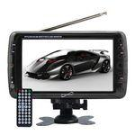 "7"" Portable Digital LCD TV w/ USB & SD Inputs Custom Branded"