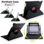 Porthole SmartCase for iPad 2/3/4 with Full Color Printing Logo Printed
