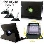 Logo Printed Porthole SmartCase for iPad 2/3/4 with Full Color Printing