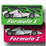 Race Car Paper Air Freshener / Double Sided Custom Imprinted