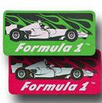 Race Car Paper Air Freshener / Double Sided Logo Imprinted