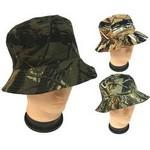 Forest Camo Bucket Hats Custom Imprinted