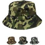 Children's Four Color Camouflage Summer Hat Custom Imprinted