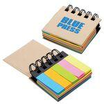 Custom Printed Notebook w/ Sticky Notes & Flags