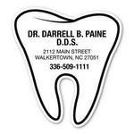 "Logo Branded 2.75"" x 3"" Tooth"