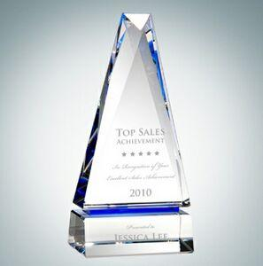 Obelisk of Success Optical Crystal Award