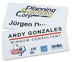 "Magnetic Name Badges- 1.5"" X 3"" Custom Printed"
