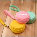 Macaron Silicone Change Purse Custom Imprinted