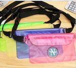 Outdoor waterproof Sports Beach Waist Pack Phone Bag Fanny Pack Custom Embroidered