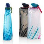 16 OZ Anti-Bottle Outdoor Traveling Cycling Climbing Hiking Fishing Camping Hunt Sport Water bag Logo Branded