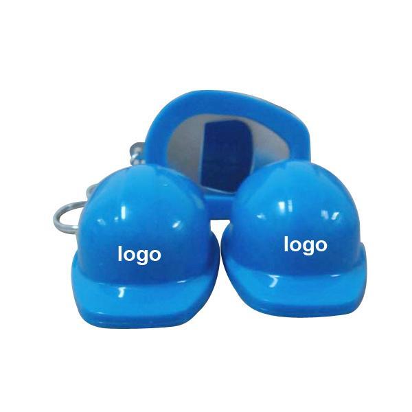 brava hard hat helmet shaped bottle opener key chain logo branded. Black Bedroom Furniture Sets. Home Design Ideas