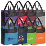 Tote-It-All Colorful Cooler Custom Imprinted