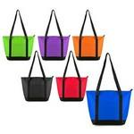 Non Woven Foil Cooler Tote Bag Custom Imprinted
