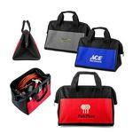 Custom Imprinted Poly Zippered Work Tool Bag