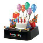 Custom Imprinted Color Birthday Party Magnetic Sculpture