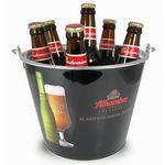 Full Color Ice Bucket/ Beer Bucket Logo Branded