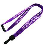 Custom Imprinted Eco Cotton Lanyard - 1/2 inch