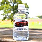 10oz (296ml) Bottled Water with Custom Full Color Label Custom Printed
