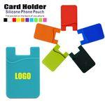 Logo Branded Silicone Phone Wallet